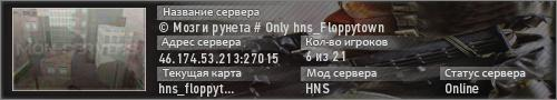 © Мозги рунета # Only hns_Floppytown