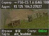 -= FSG-CS 1.6 |GAG| 1000FPS =-
