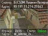 |G| CSDM Пушки+Лазеры