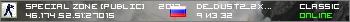 Сервер SPECIAL ZONE [PUBLIC] © 2012