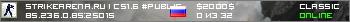 StrikeArena.ru | CS1.6 #Public