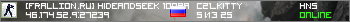 Сервер [FRALLION.RU] HideAndSeek 100aa