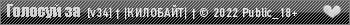 [v34] † |КИЛОБАЙТ| † © 2019 Public_18+