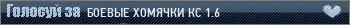 Сервер БОЕВЫЕ ХОМЯЧКИ КС 1.6